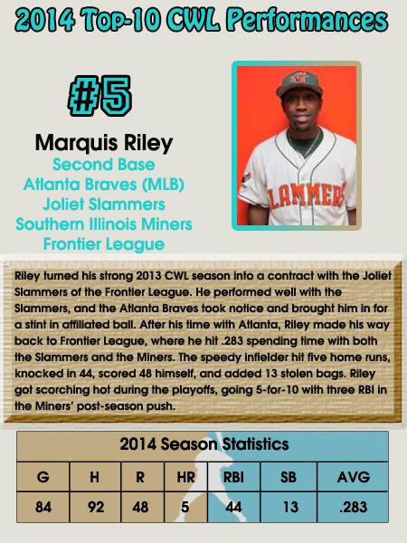 #5 - Marquis Riley