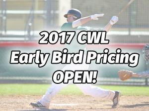 2017 CWL Early Bird PRicing