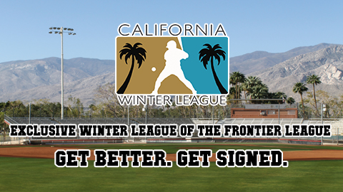 California Winter League Inks Agreement to Become Exclusive Winter League of the Frontier League